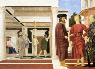 """""""La Flagellazione di Cristo"""" di Piero della Francesca - Urbino - Galleria Nazionale delle Marche"""